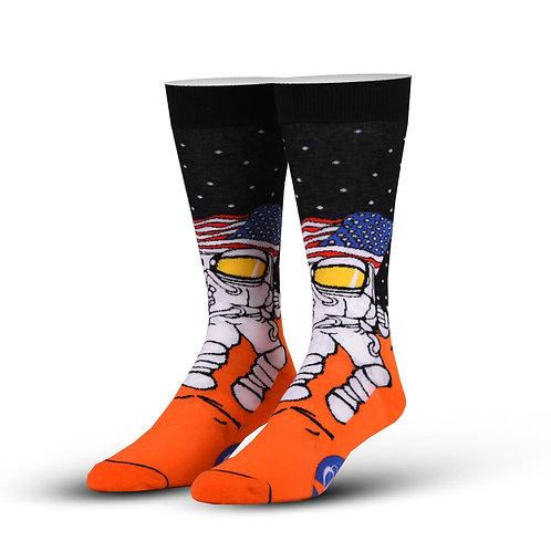 Cool Socks Mars Astronaut