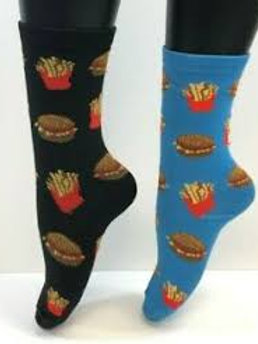 Foozys Hamburger and Fries