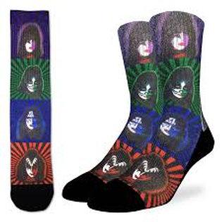 Good Luck Sock Kiss Pop Art