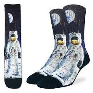 Good Luck Sock Apollo Astronaut