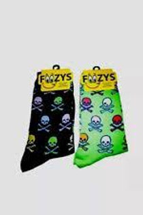 Foozys Colorful Skulls and Crossbones