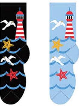 Foozys Lighthouse and Seagulls