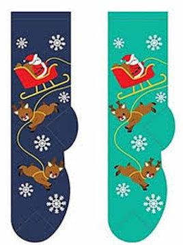 Foozys Santa and Reindeer Christmas