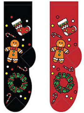 Foozys Gingerbread Cookie Wreath and Stocking Christmas