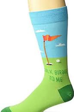 Hotsox Talk Birdie To Me Golf Sock