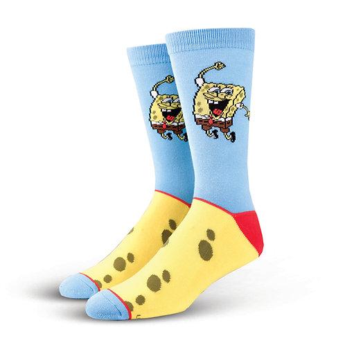 Cool Socks Spongbob Squarepants jumping