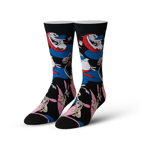 Cool Socks Ren and Stimpy