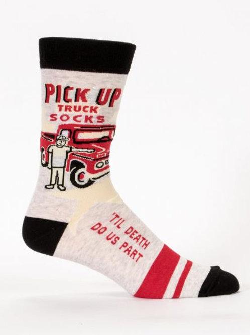 Blue Q Pick up truck socks