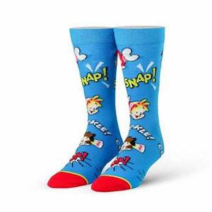 Cool Socks Snap Crackle Pop Rice Krispies Cereal