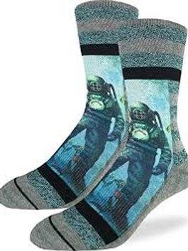 Good Luck Socks Scuba Diver
