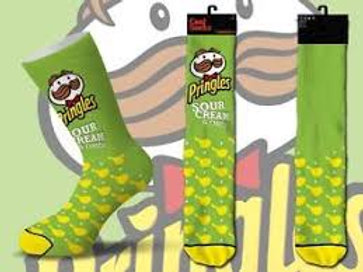 Cool Socks Pringles Sour Cream and Onion Chips