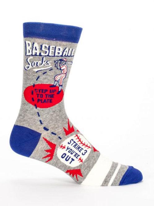 Blue Q Baseball Socks