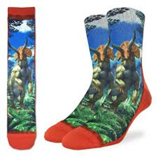 Good Luck Socks Triceratops Dinosaur