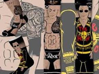 Odd Sox WWE The Rock