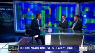 Geoff Clark & Ryan Phillippe on CNN's Piers Morgan Live