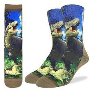 Good Luck Socks T-Rex Dinosaur