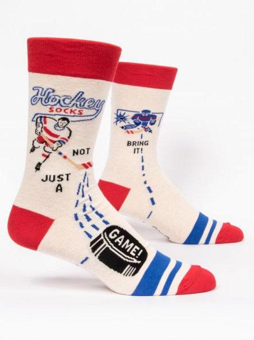 Blue Q Hockey socks