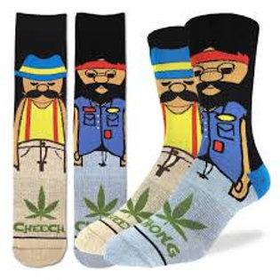 Good Luck Socks Cheech and Chong