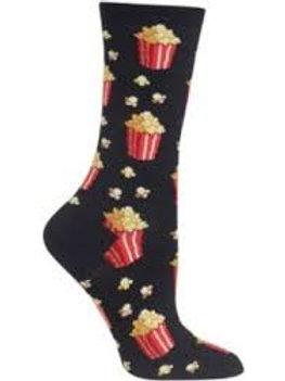Hotsox Popcorn on Black