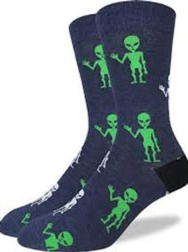 Good Luck Sock Aliens