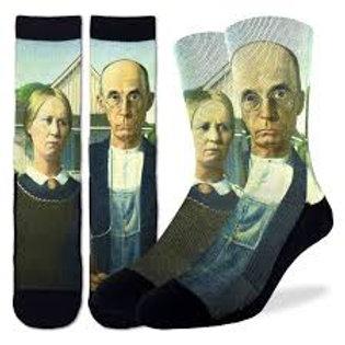 Good Luck Socks American Gothic