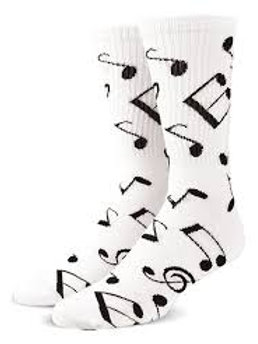 Cool Socks Music Notes