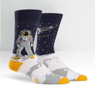 Sock It To Me One Giant Leap Astronaut