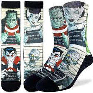 Good Luck Socks Halloween Mugshots