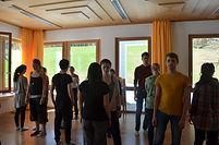 Rotierendes Theater – Vereinsschulung