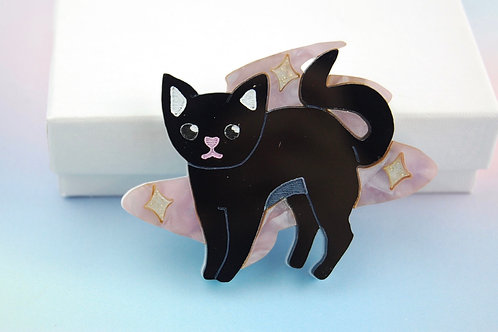 Magical Kitty (Brooch/Necklace)