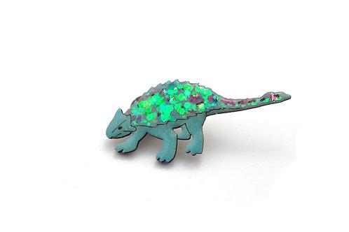 Ankylosaurus Pin Badge