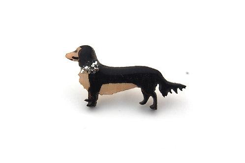 Dashaund Dog Pin