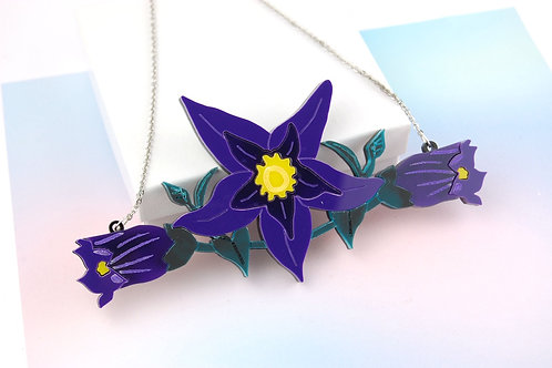 Deadly Nightshade Statement Necklace