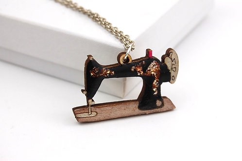 Copy of Sewing Machine Necklace