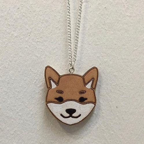 Shibu Inu Necklace