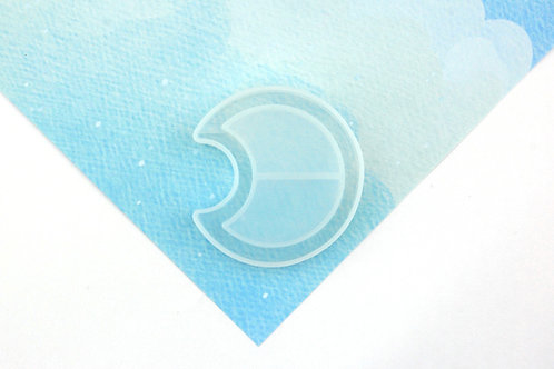 Moon Hollow Silicone Mould - Mould Only