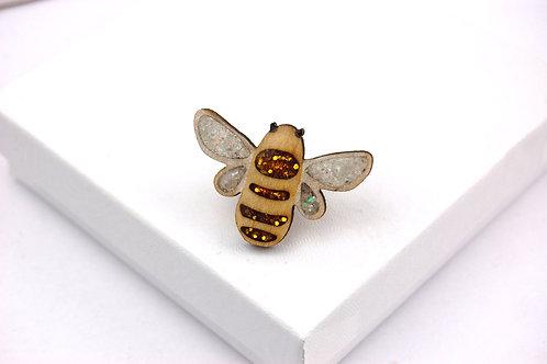 Bumble Bee Pin Badge