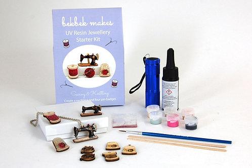 UV Resin Starter Kit - Sewing & Knitting