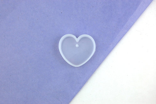 Heart Reusable Silicone Mould - Mould Only