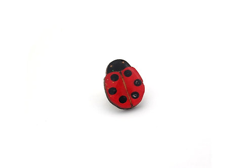 Ladybird Pin Large
