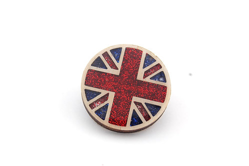 Union Jack Pin Large
