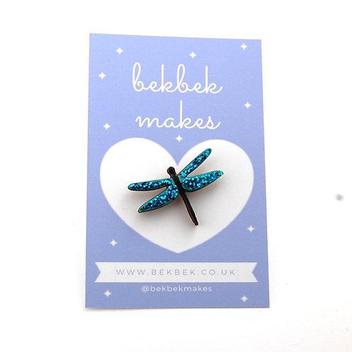 Dragonfly Pin Badge