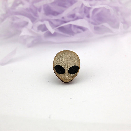 Alien Pin Badge