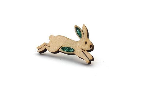 Rabbit Emerald Green