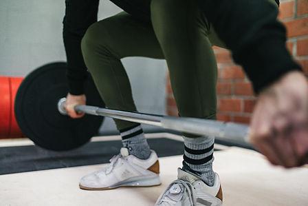 Gewichtheben Bergwerk CrossFit