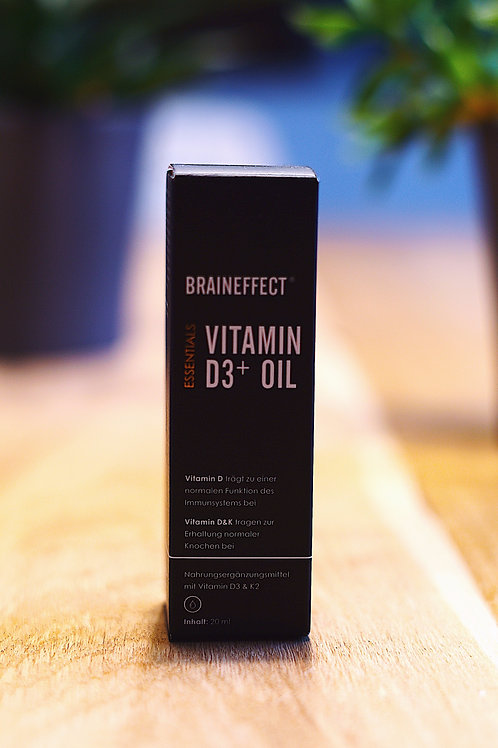 BRAINEFFECT VITAMIN D+oIL