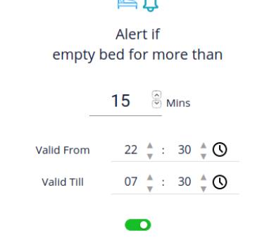 Empty Bed Alert