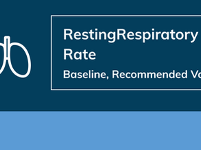 Resting Respiratory Rate – Baseline, Recommended Value