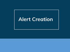 Alert Creation