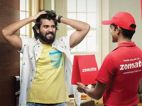 """The success story of """"Zomato : Never have a bad meal"""""""